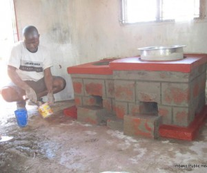 Imbako promotes use of the rocket stove as an energy efficient and environmental friendly mode of food preparation and water heating
